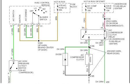 2005 chevy silverado climate control wiring diagram