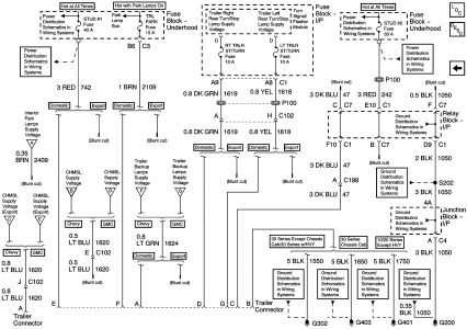 2000 chevy silverado trailer wiring diagram wiring diagrams trailer wiring diagram chevy silverado printable
