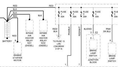 dodge ram wiring diagram image wiring 1998 dodge ram wiring diagram wiring diagrams on 1998 dodge ram wiring diagram