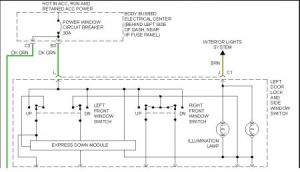 1998 Chevy Blazer Power Window Switch (driver Side)