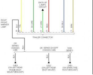 2003 Chevy Silverado Rear Trailer Plug: Electrical Problem