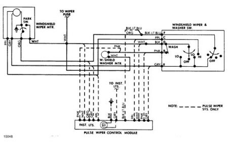 1966 Chevelle Windshield Wiper Wiring Diagram