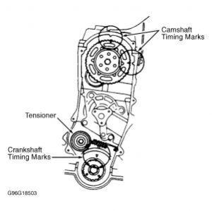 1991 Ford Festiva Timing Belt, Diagram?: Engine Mechanical