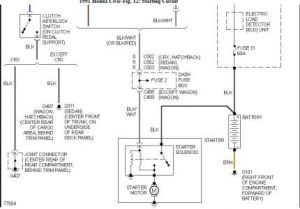 91 Honda Civic Hatchback Wiring Diagram  Best Diagram For
