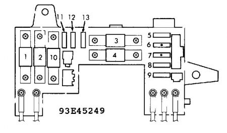 92 Honda Civic Headlight Wiring Diagram 1990 Ford Probe