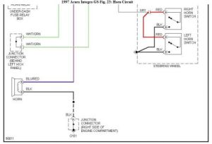 I'm Yahica: Acura Integra Horn Wiring Diagram