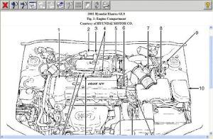 2001 Hyundai Elantra IDLE HIGH: I Have within the Past