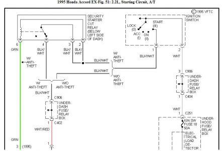 1995 honda accord wiring diagram