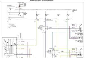 1993 Acura Integra Power Windows: Electrical Problem 1993