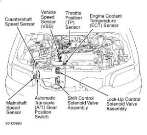 97 Honda Accord Transmission Diagram : 36 Wiring Diagram Images  Wiring Diagrams