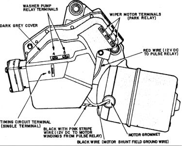 chevy wiper motor wiring diagram merzie net on wiper motor wiring diagram chevrolet
