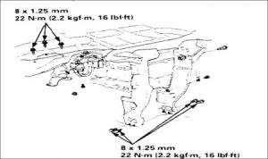1995 Honda Odyssey Heater Core Replacement Instructions: 1995