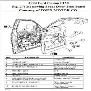 2002 Ford F150 Parts Diagram