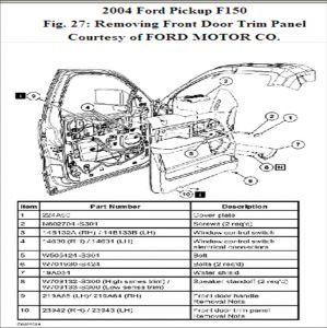 2005    Ford    F150 Interior Parts    Diagram