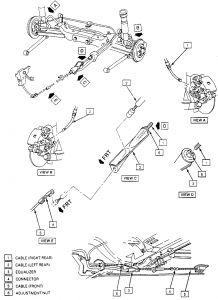 1999 Buick Century Emergency Brake Broke: Emergency Brake
