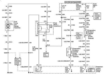 2008 Chevrolet Malibu Wiring Diagram