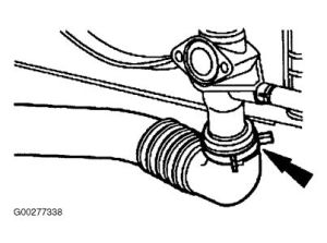 1998 Lincoln Continental Thermostat: Diagram and