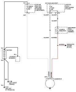 1990 Geo Metro Starteraltenator Wiring: Electrical Problem 1990