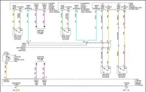 1999 Buick Park Avenue System Wiring Diagram: at the Same