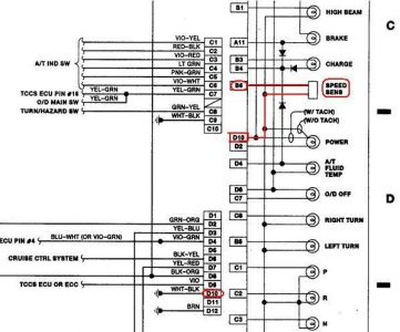 1989 Lincoln Town Car Fuse Box Diagram