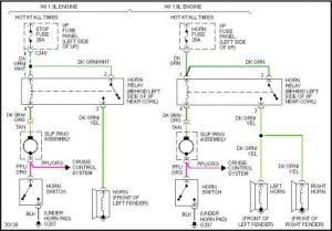 1995 Ford Escort Horn Need the Wiring Diagram