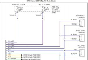 Mazda 626 Radio Wiring Harness  Wiring Diagram