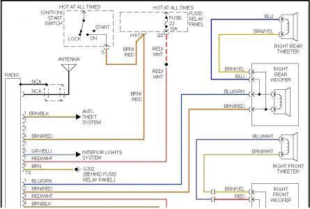 97 volkswagen jetta radio wiring diagram  automotive block