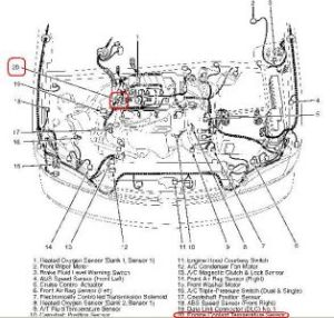1999 Toyota Sienna Check Engine Light with Code P0125