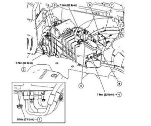 2003 Ford Explorer Replacingaccessing Blend Doorno Heat