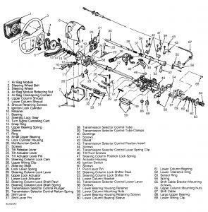 Steering Column: Steering Problem 6 Cyl Two Wheel Drive