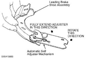 Rear Brake Shoe Replacement: I Am Trying to Replace the