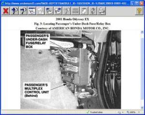2001 Honda Odyssey Brake Lights and Dash Lights Won't Work