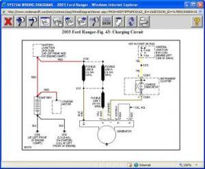 2003 Ford Ranger Alternator Not Charging: Electrical