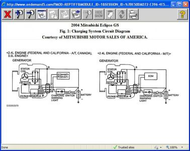 01 Eclipse Alternator Wiring Diagram - Wiring Liry Diagram A5 on