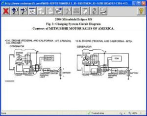 2004 Mitsubishi Eclipse Charging System: Does the Ecu Have