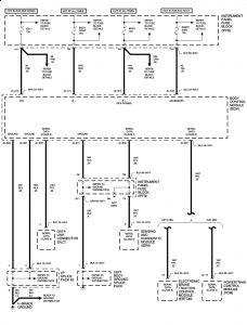 2001 Saturn L300 Ip Telltale & Mil Lights
