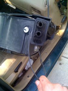 1993 Plymouth Acclaim Broken Vacuum Line: I Have Recently Removed