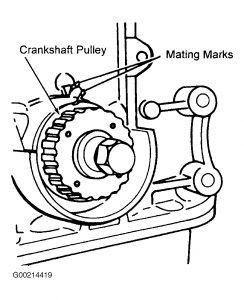 1998 Kia Sportage Timing Belt: Engine Mechanical Problem