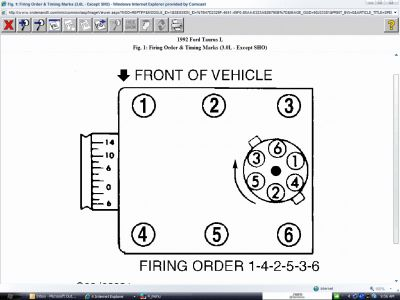 2005 ford taurus spark plug wire diagram  nissan z24 engine