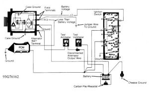 1993 Jeep Cherokee Internal Regulator or Ecu Problem