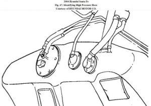 Fuel Pump Wiring Diagram: Engine Performance Problem 2004