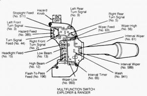 1994 Ford Ranger Turn Signal: Electrical Problem 1994 Ford Ranger