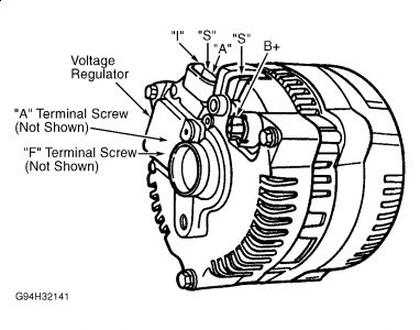 ford 3 wire alternator wiring diagram wiring diagram for gm one wire RTD Wiring Color Code motorcraft alternator wiring schematic motorcraft ford 3 wire alternator hookup ford auto wiring diagram schematic on