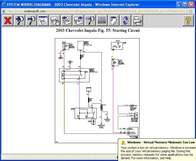 2003 impala wiring diagram for start system  dryer 30 amp