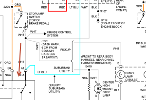 Can You Show Me Brake Light Wiring Harness Diagram for a