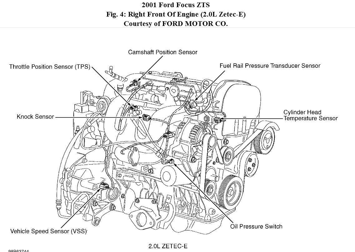 Ford Contour 2 0 Engine Diagram