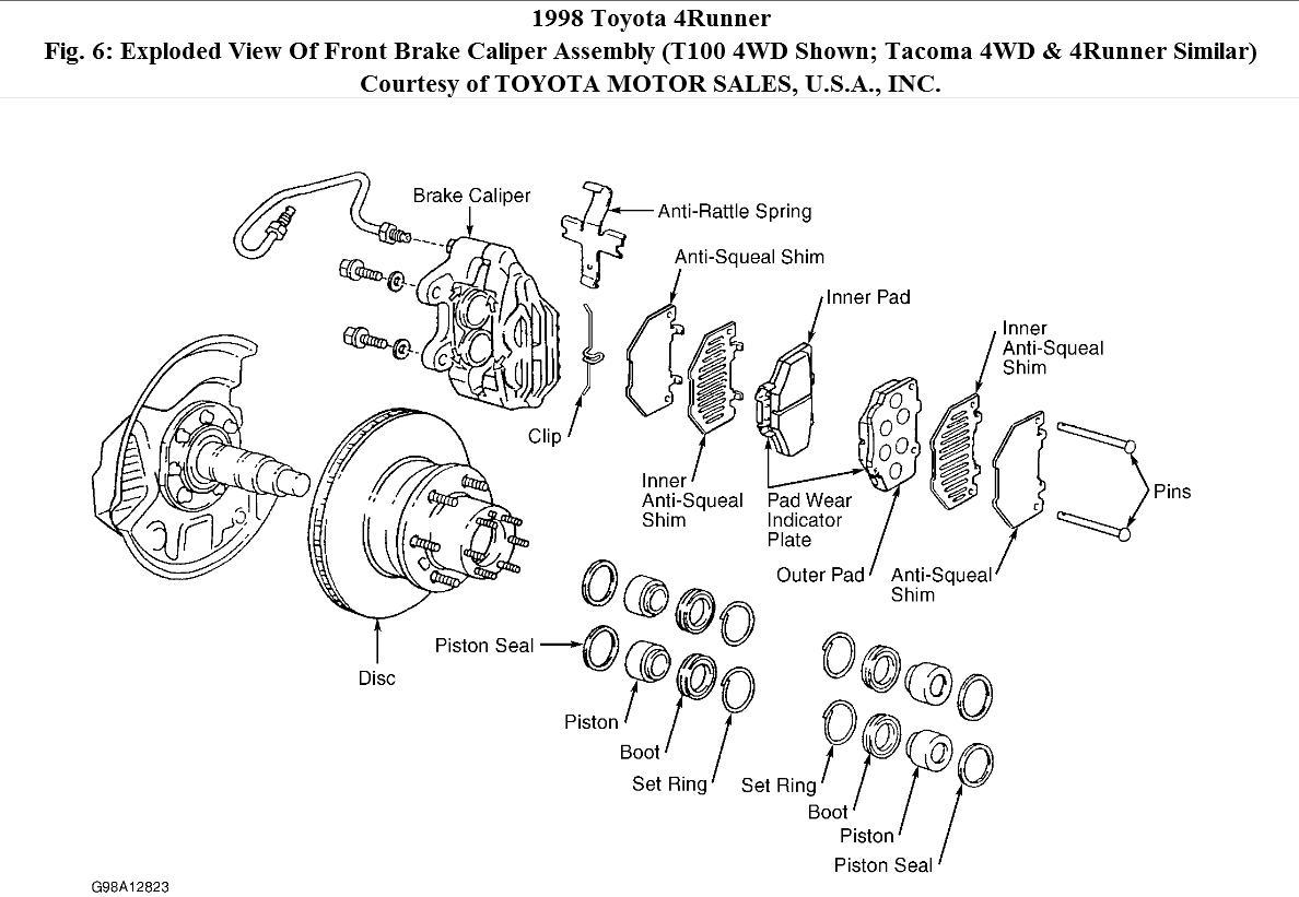 Toyotum Tacoma Engine Diagram
