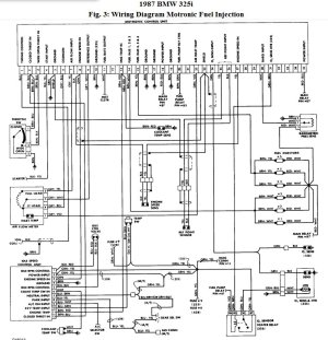 Where Is the Ignition Control Unit in the Bmw 325 I 1987