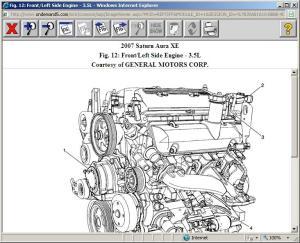 2007 Aura, 35L  Code P0449: Originally I Had a Code P0455,