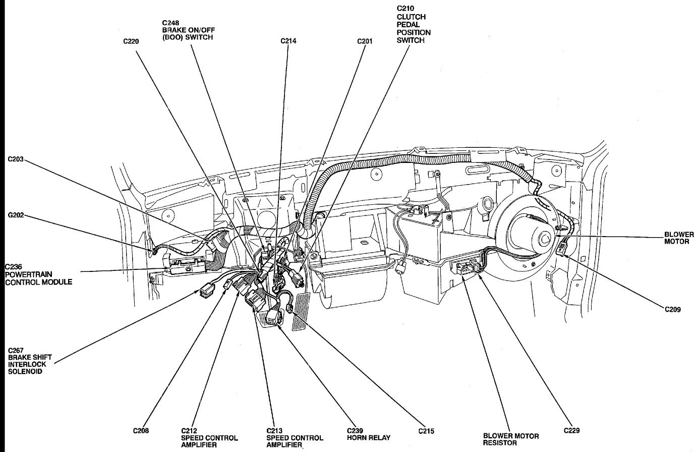 Ford Tempo Blower Motor Wiring Diagram